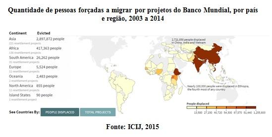 mapa banco mundial