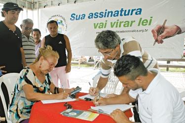 reforma politica assinaturasOK