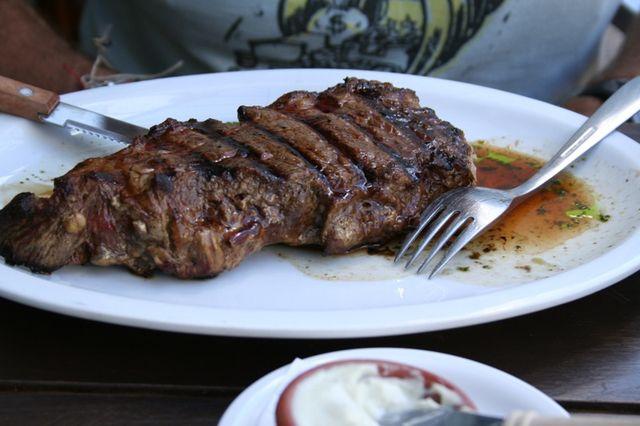 Carne Argentina, Bife de Chorizo (Foto: e.carr)