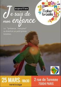 Exposition « Je suis de mon enfance » de Mari Merlim @ Institut Culturel Alter Brasilis | Paris | Île-de-France | França