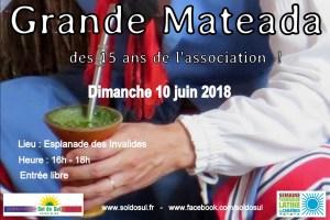 Grande Mateada des 15 ans de l'Association @ Esplanade des Invalides | Paris | Île-de-France | França