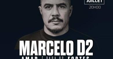 """Marcelo D2 lançou o seu álbum """"Amar é para os fortes"""" em Paris"""