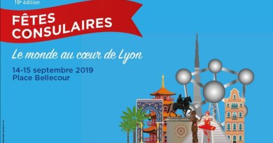 Consulado Honorário do Brasil em Lyon nas Festas Consulares 2019