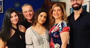 Aniversário de Gerardo Rabello em tempos de coronavírus juntamente com a família