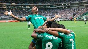 Palmeiras goleia o Vasco na estreia do brasileirão