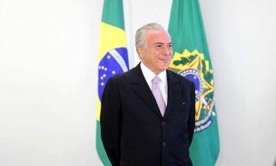 """Temer: Brasil precisa """"eliminar raivosidades"""" para ser pacificado"""