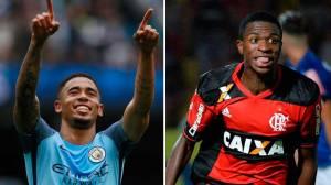 Jornal põe Gabriel Jesus, Gabigol e Vinicius Jr. em lista de melhores sub-21 do mundo