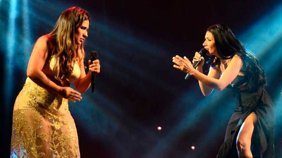 Show de Simone e Simaria termina em confusão em Miami e polícia encerra a apresentação