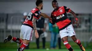 Flamengo atropela com 1º gol de Vinicius Jr. e se classifica