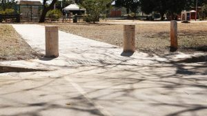 Parque da Cidade ganha calçadas com acessibilidade nos estacionamentos
