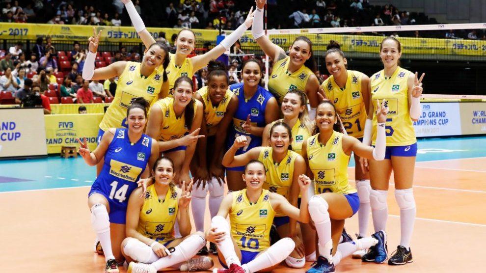Esportes mais praticados no brasil: 02 vôlei