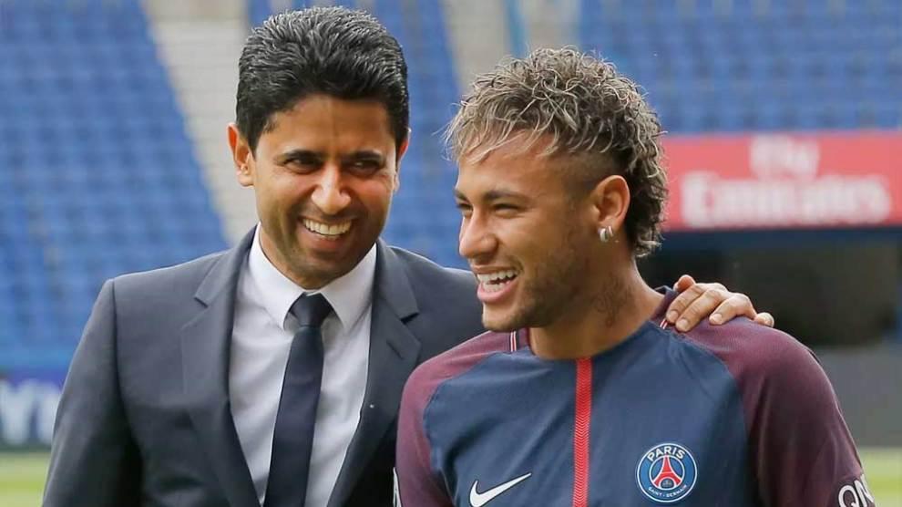 Presidente do PSG crê em projeto longo com Neymar