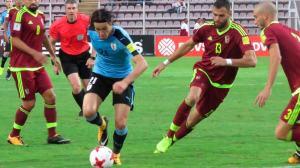 Uruguai fica no empate com a Venezuela e não garante classificação para Copa