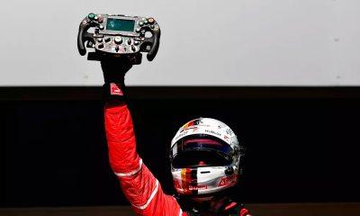 Vettel conquista vitória em SP, e Hamilton brilha