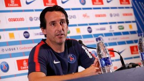 Emery mostra incerteza sobre data da volta de Neymar ao PSG