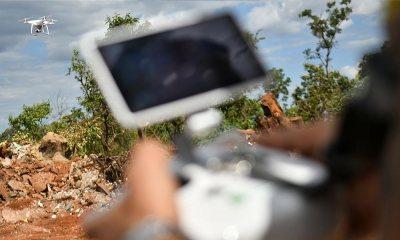 Drone da Agefis vai monitorar ocupações e descarte de lixo irregulares
