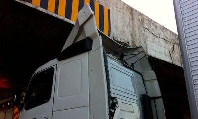 Ponte do Bragueto, vai ter barreira para impedir caminhões acima da altura limite
