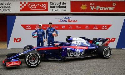 Red Bull Toro Rosso Honda revela o STR13