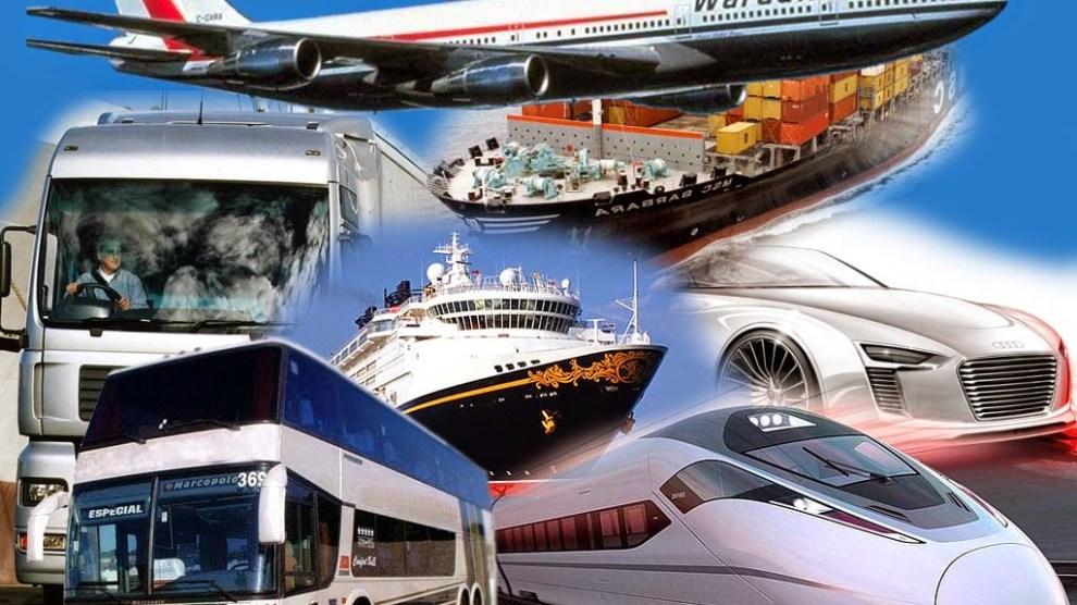 Quais são os meios de transportes que o homem moderno pode
