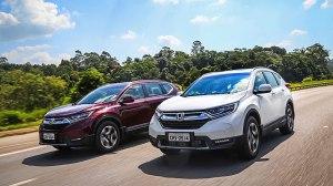Novo Honda CR-V estreia no Brasil completamente renovado, com estilo empolgante, nova motorização e mais tecnologia