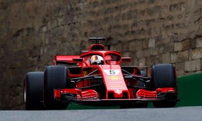 Vettel conquista a pole no Azerbaijão após erro de Raikkonen na última volta
