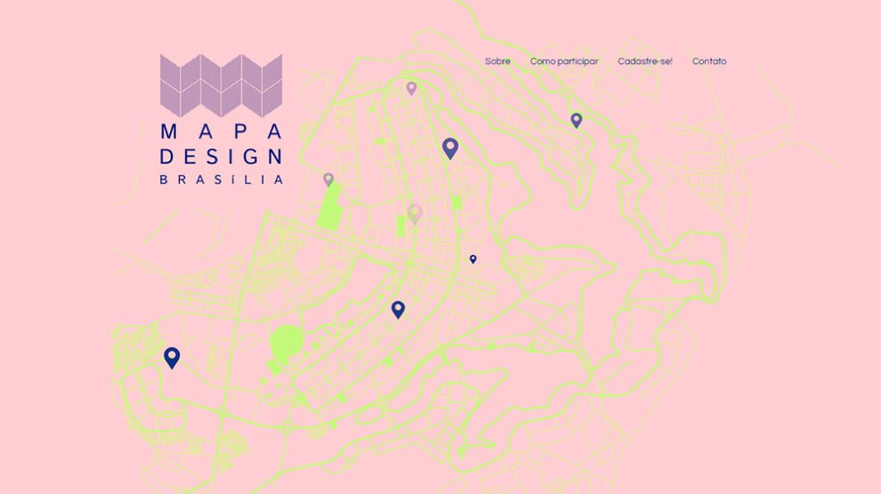 Mapa Design Brasília