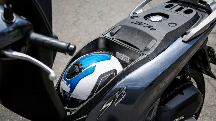 Nova Honda SH150i. Foto: Divulgação