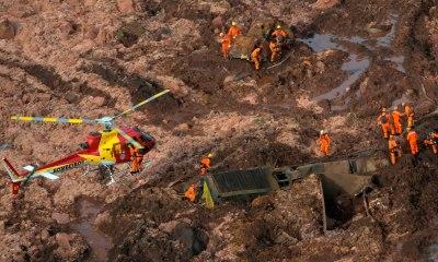 Governo de Minas confirma sete mortes após rompimento de barragem