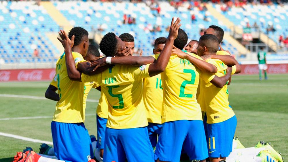 Seleção brasileira vence e se classifica. Foto: Gregório Fernandes/CBF