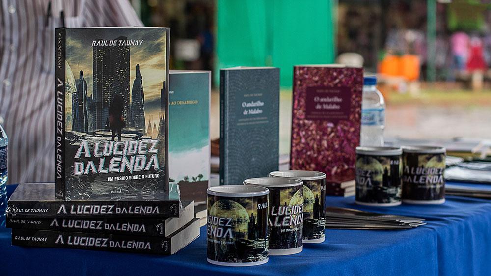 Feira da Torre de TV recebe 3ª edição da Feira Literária. Foto: Kizy Melo