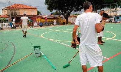 """Projeto """"Mãos Dadas"""" em Samambaia. Foto: Renato Alves / GDF"""