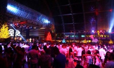 Rael e DJ Yuri Martins fizeram a festa no Réveillon do Yurb