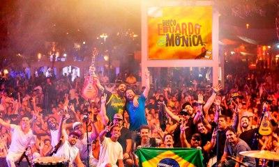 Brasília revive clássicos do rock em ritmo de samba, à beira-lago, em 14 horas de Bloco Eduardo e Mônica