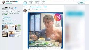 Bolsonaro inicia nova dieta e telefona para três ministros