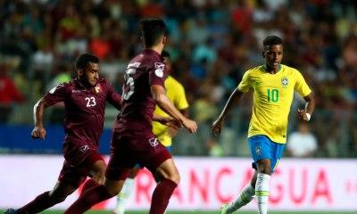 Brasil perde da Venezuela e se complica no Sul-Americano Sub-20. Foto: Lucas Figueiredo/CBF