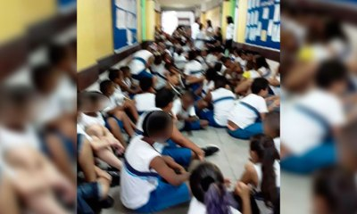 Violência constante: Vídeo mostra alunos sendo retirados de salas de aula durante intenso tiroteio no Rio de Janeiro