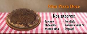 mini pizza doce