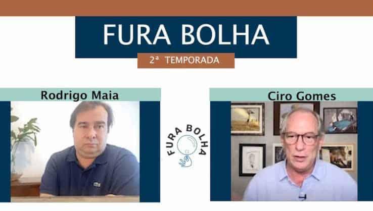 Vídeo: Ciro Gomes e Rodrigo Maia debatem na Fundação FHC