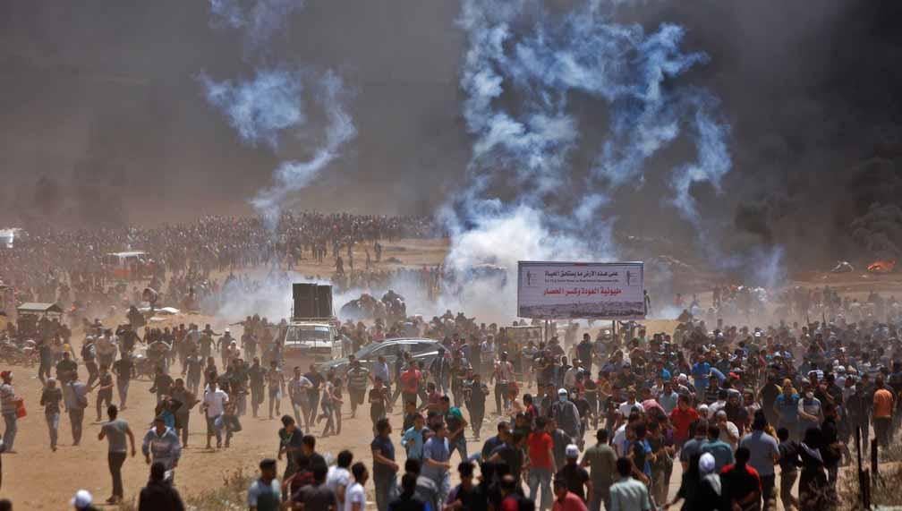 Israel relata disparo de foguetes e confrontos na Faixa de Gaza deixam 20 mortos