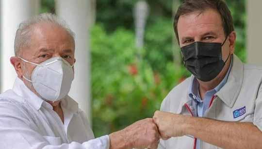 Após reunião com Freixo, Lula encontra Eduardo Paes no RJ