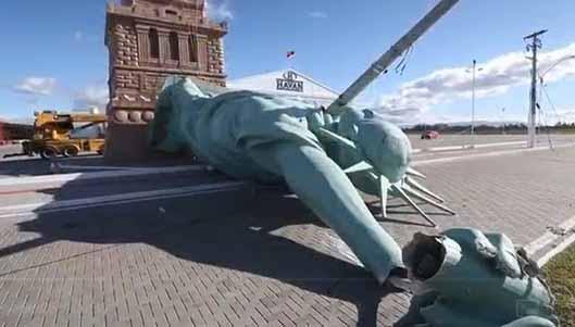 Artistas querem proibir estátua da Havan no Maranhão