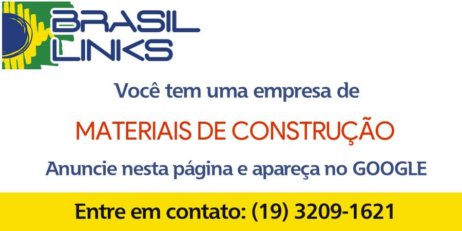 empresas de material de construção em Campinas