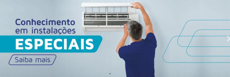 Instalação de aparelhos de ar condicionado em Várzea Paulista