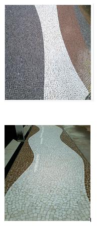 Calçamento de pedras portuguesa em Campinas