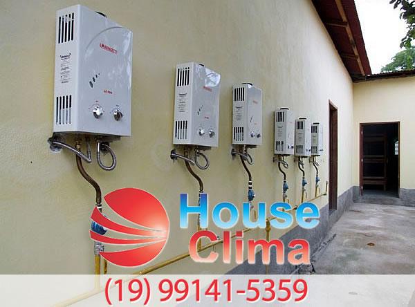 aquecedor de agua residencial Campinas