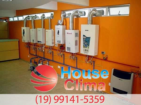 manutenção aquecedor a gas Campinas