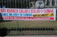 """You can't silence Cunha. We are millions of Cunhas!"""