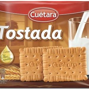 foto Biscoito Cuétera tostada 800g