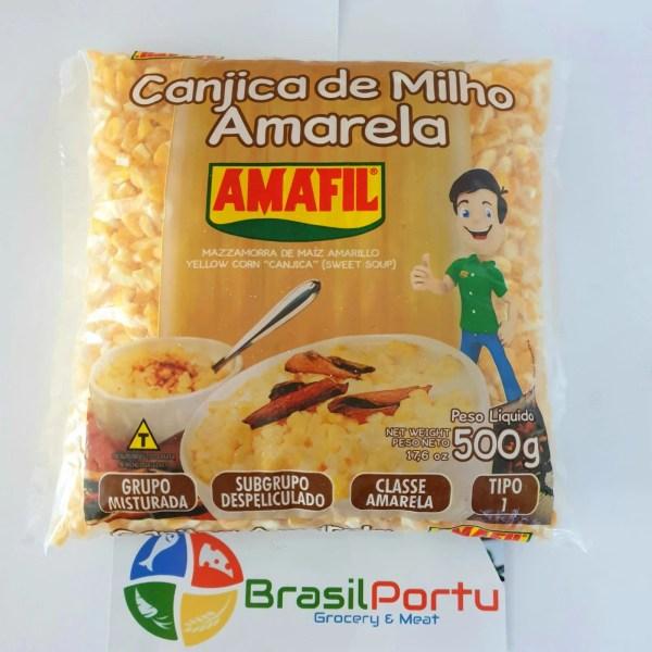 foto Canjica de Milho Amarela 500g