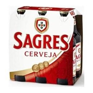 foto Cerveja Sagres Pack 6 und